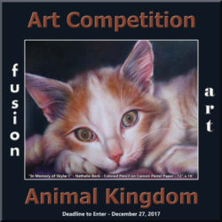 3rd Annual Animal Kingdom Art Competition - logo
