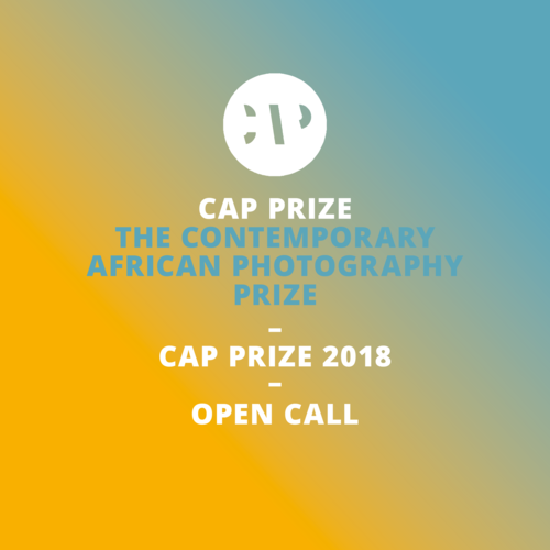 CAP Prize for Contemporary African Photography 2018 - logo