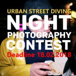 Night Street Photography Contest - logo