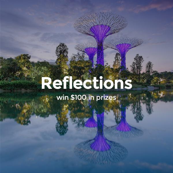 Reflections - logo