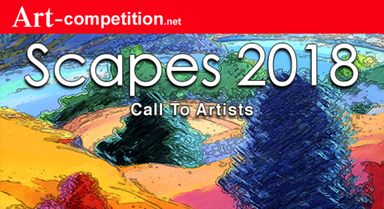 """CALL TO ARTIST – """"SCAPES 2018"""" – CASH & ART MARKETING PRIZES - logo"""