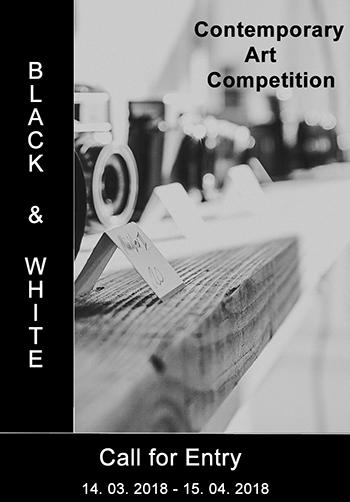 "International Art Competition ""BLACK & WHITE"" - logo"
