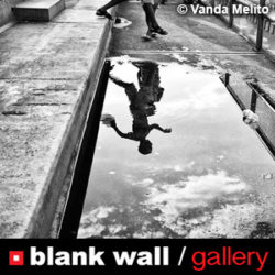 Black and White by Blank Wall Gallery - logo