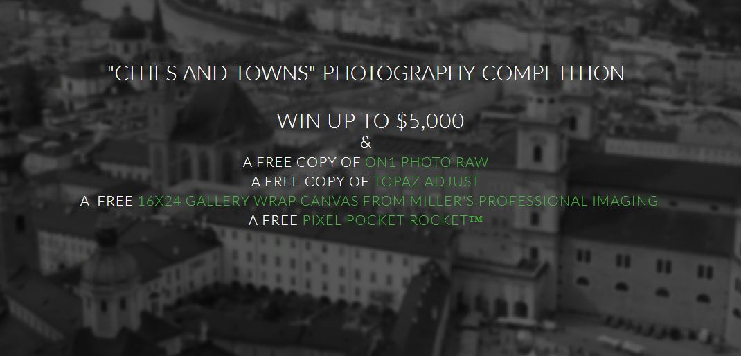 Cities and Towns Photography Competition Win Up To $5,000! - logo