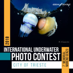 2018 INTERNAZIONAL UNDERWATER PHOTO CONTEST CITY OF TRIESTE  7th MEMORIAL MORENO Genzo - logo