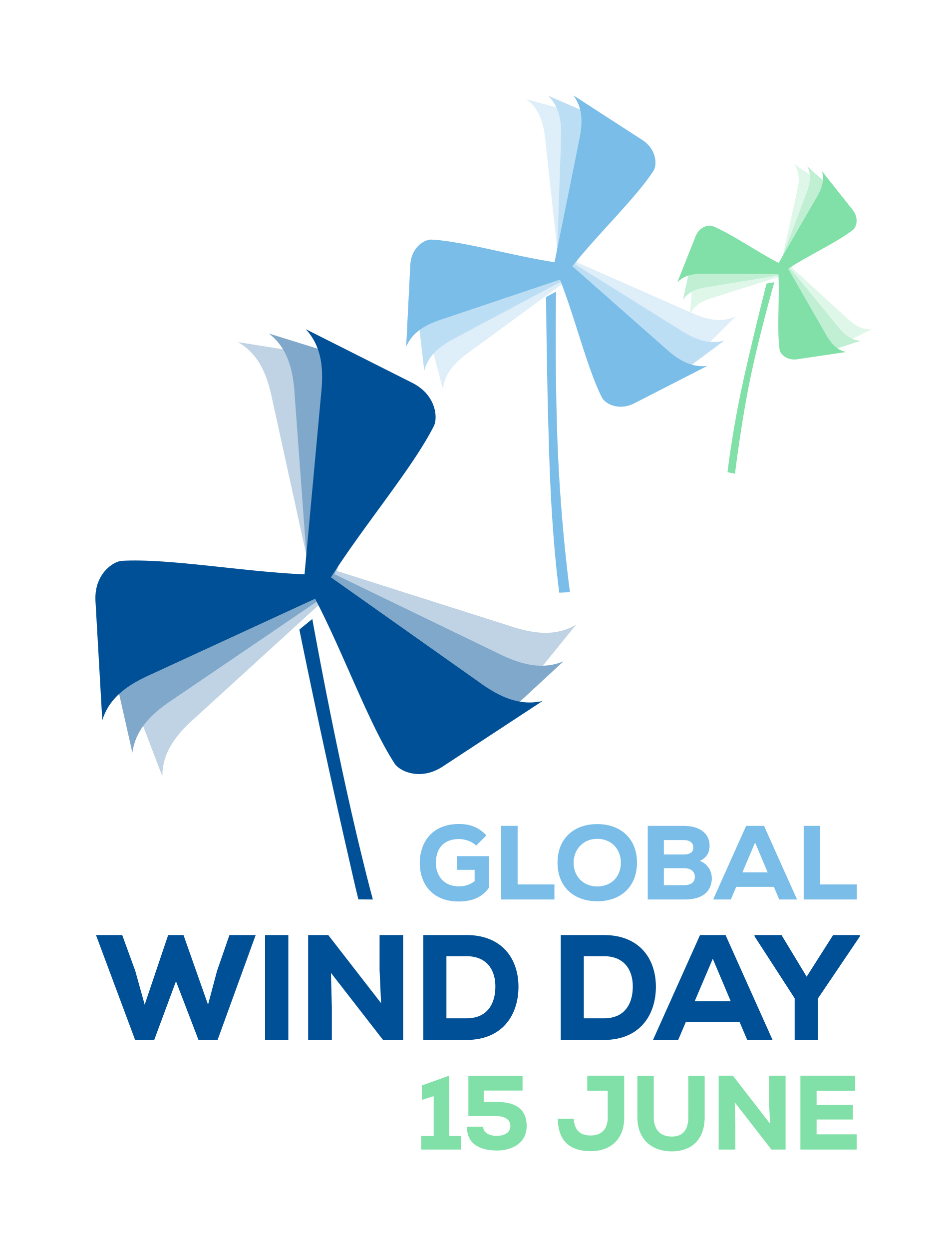 """Global Wind Day Photo Competition """"Wind Vision"""" 2018 - logo"""