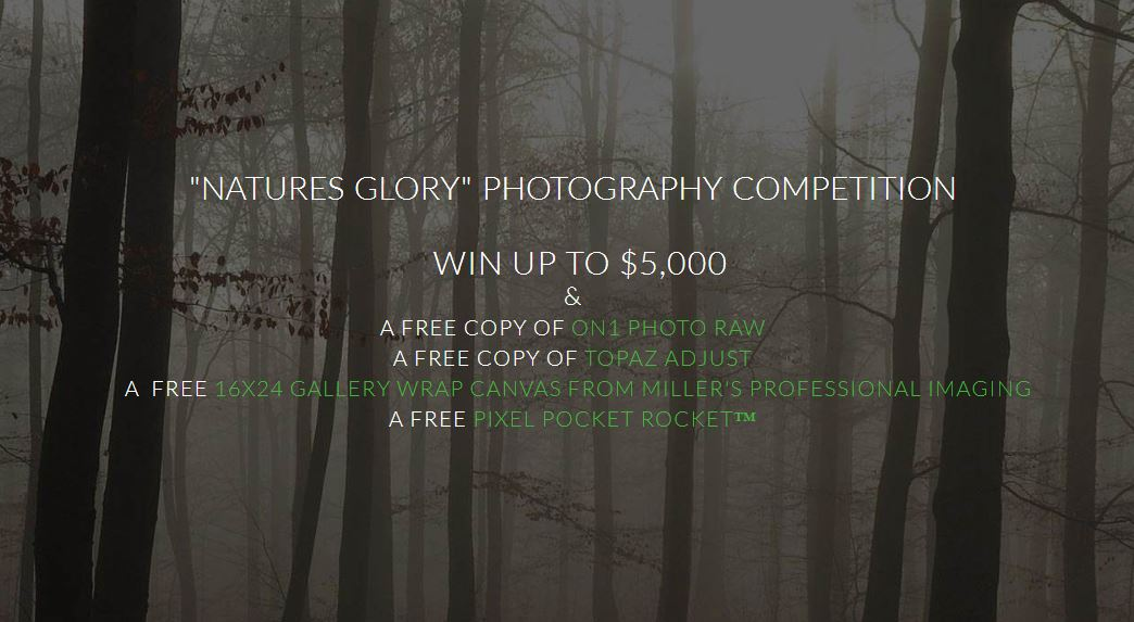 Natures Glory Photography Competition Win Up To $5,000! - logo