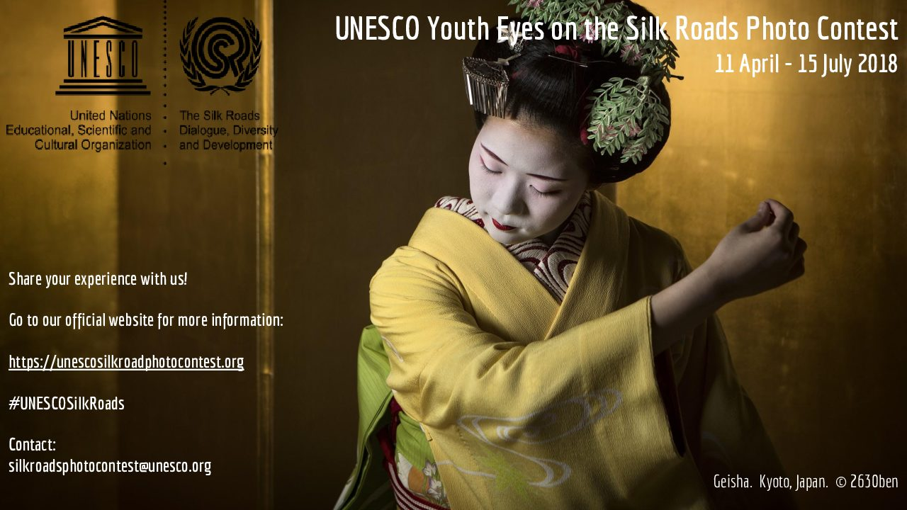 Youth Eyes on the Silk Roads Photo Contest - logo
