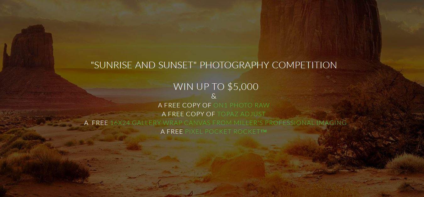 Sunrise – Sunset Photo Competition Win Up To $5,000! - logo