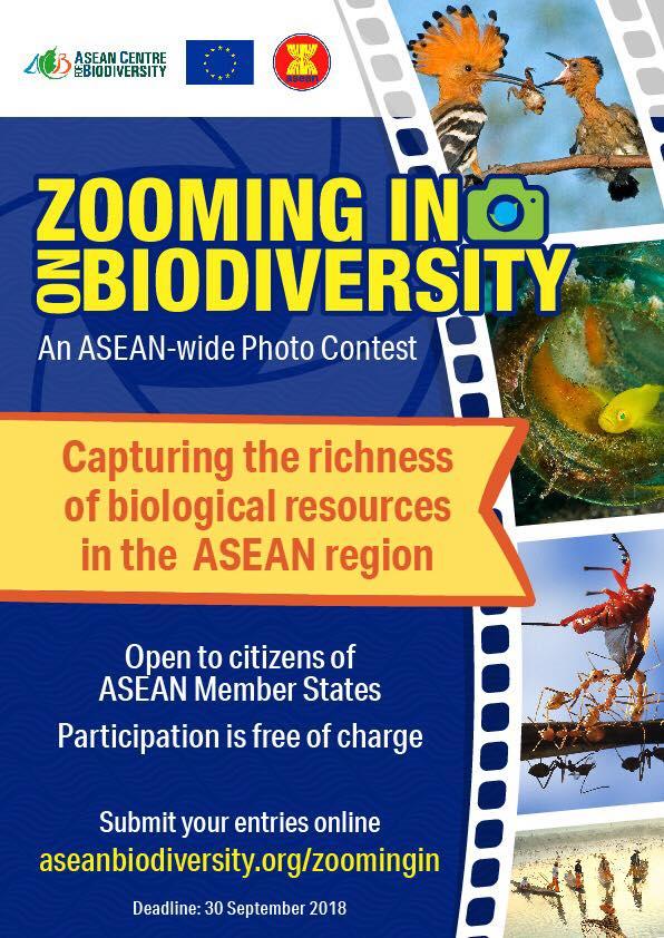 Zooming in on Biodiversity - logo