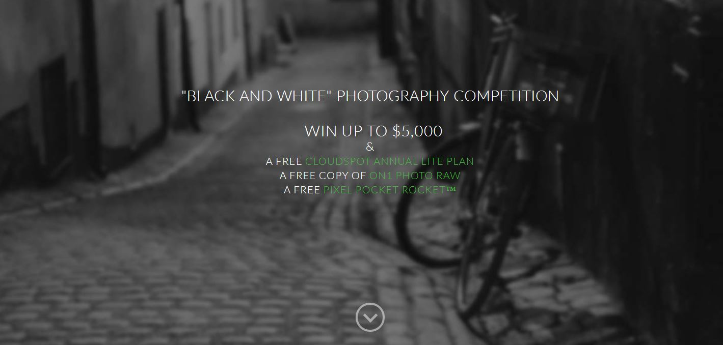 Black and White Photo Competition – Win Up To $5,000! - logo