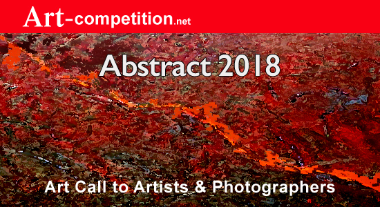 """Art Call """"Abstract 2018"""" Prizes $1,625.00 in Cash and $6,500.00 in Marketing Prizes - logo"""