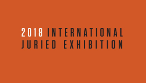 Center for Photographic Art's 2018 International Juried Exhibition - logo