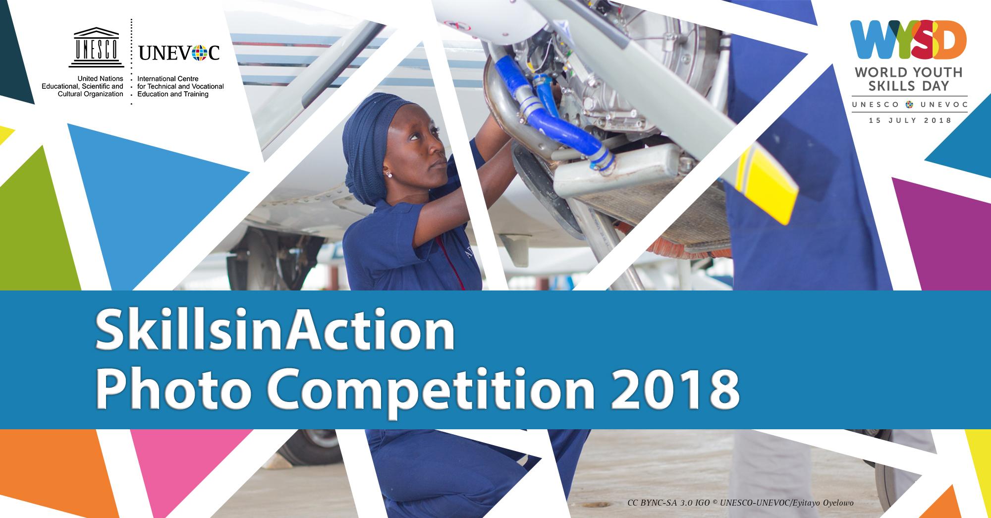 UNESCO-UNEVOC SkillsinAction Photo Competition - logo