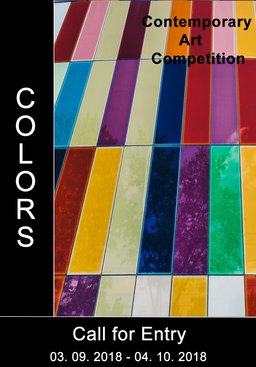 "International Art Competition ""Colors"" - logo"