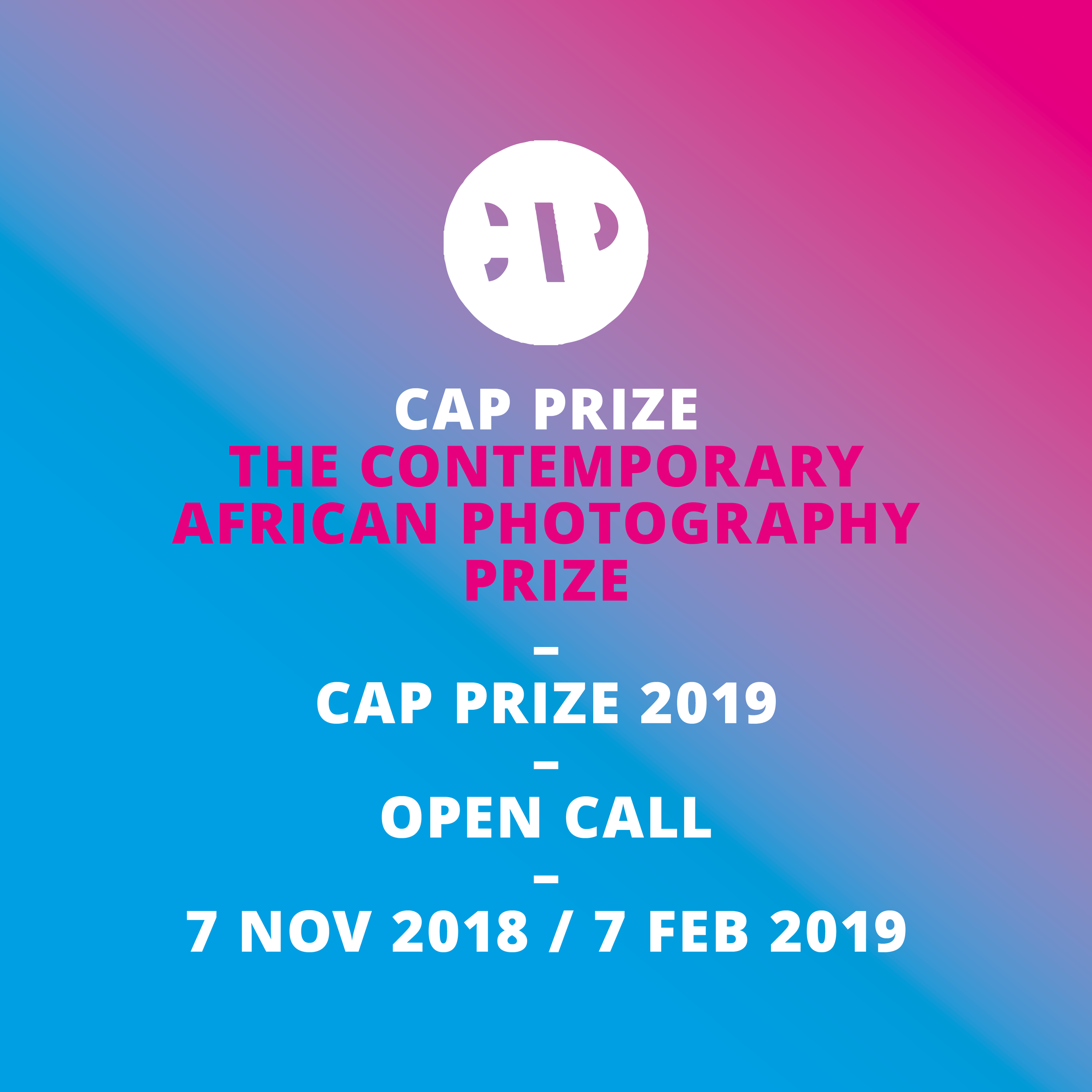 CAP Prize for Contemporary African Photography 2019 - logo
