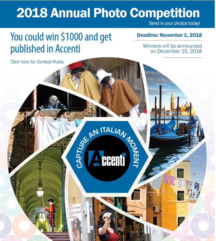 2018 Accenti annual Photo contest - logo