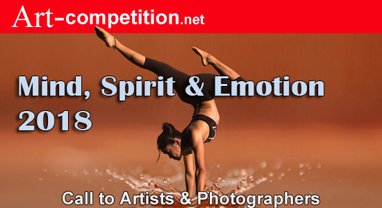 ART CALL TO ARTISTS AND PHOTOGRAPHERS – MIND, SPIRIT, & EMOTION 2018 - logo
