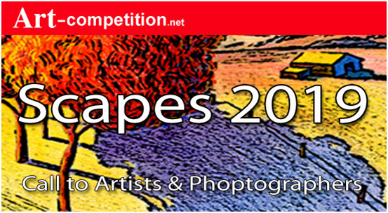 ART CALL TO ARTISTS AND PHOTOGRAPHERS – SCAPES 2019 - logo