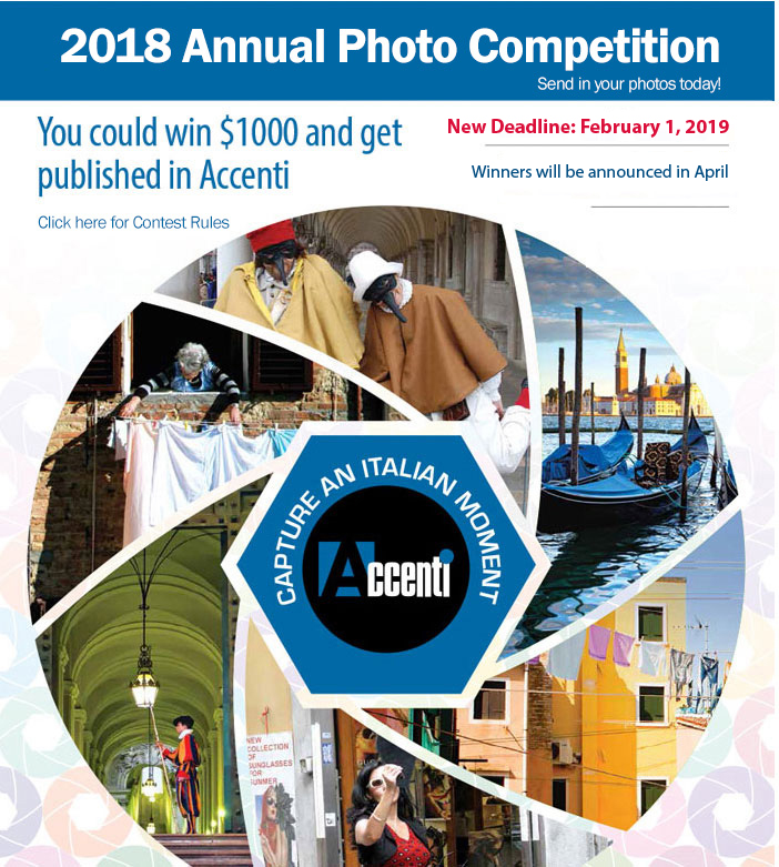 2018 Accenti annual Photo contest - logo