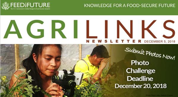 Agrilinks Announces 2018 Photo Challenge - logo