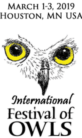 International Festival of Owls Photography Contest 2019 - logo