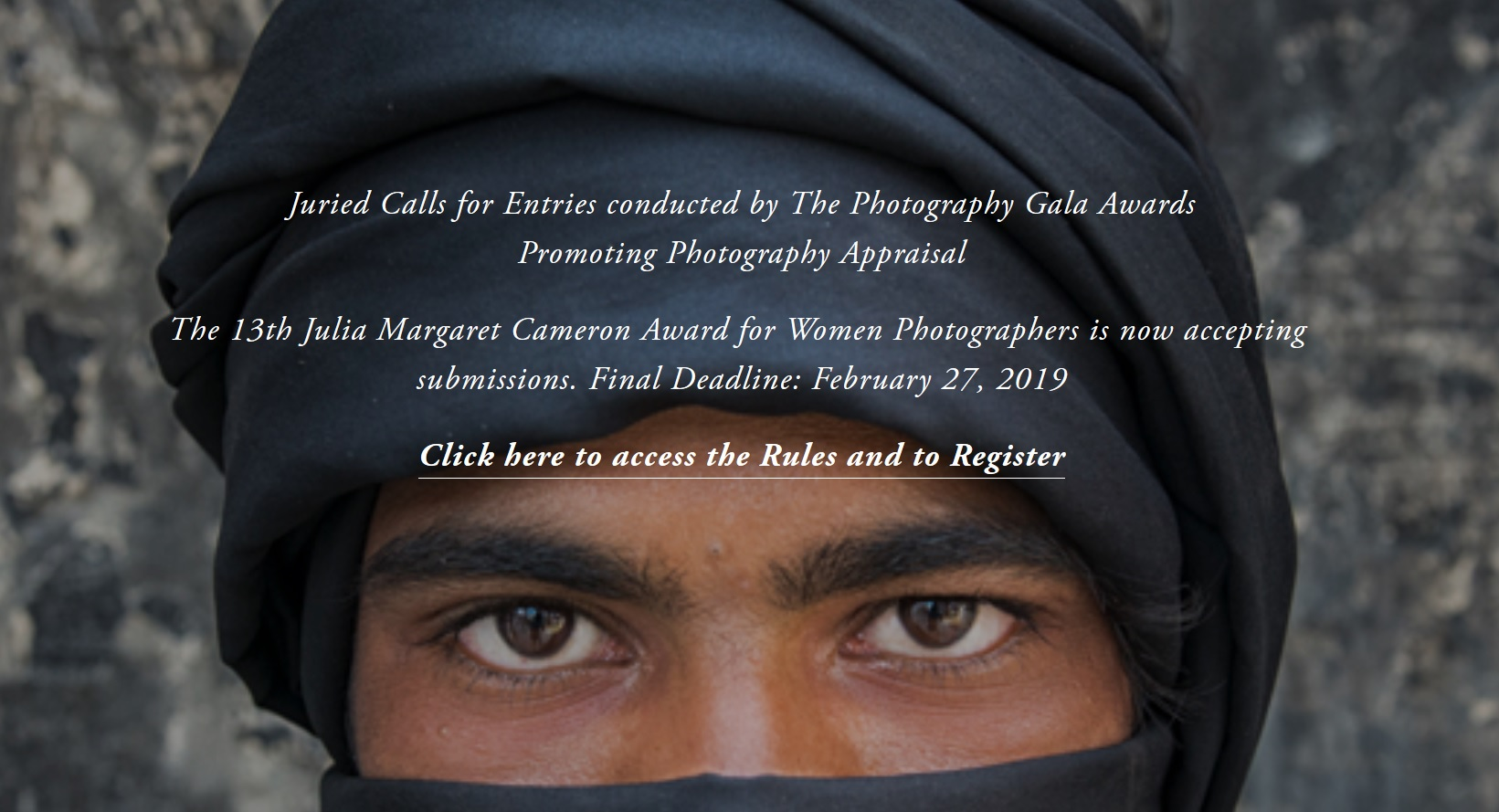 13th Julia Margaret Cameron Award for Women Photographers 2019 - logo