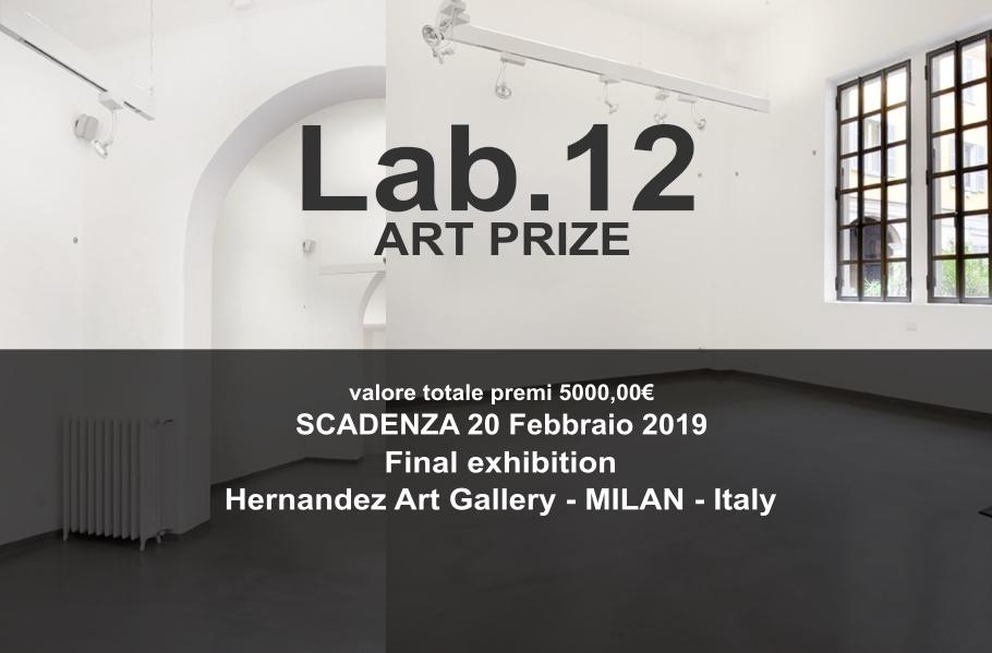 Lab.12 art contest - logo