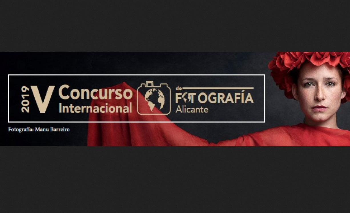 """V International Photo Contest """"Alicante"""" 2019 - logo"""