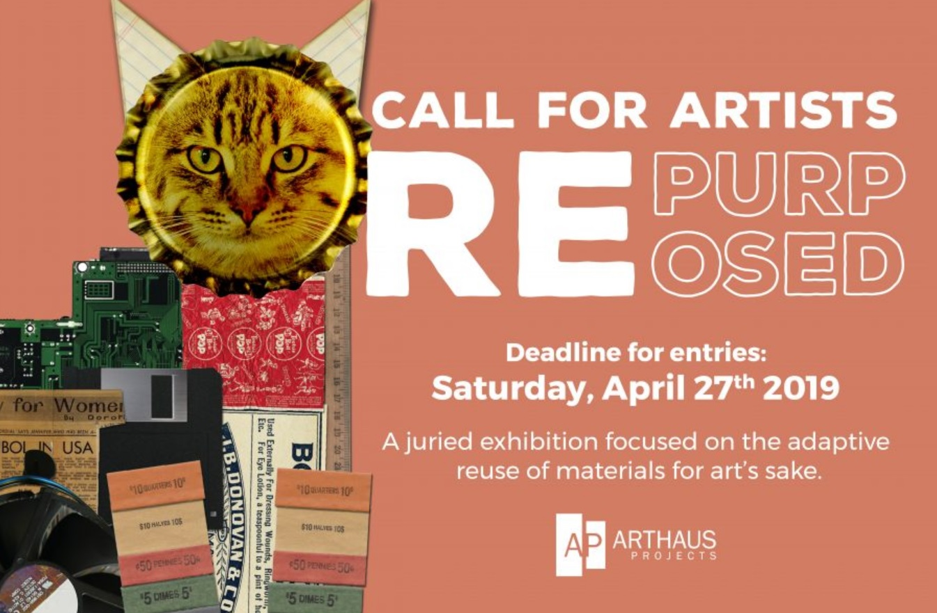 Call for Artists Repurposed 2019 - logo