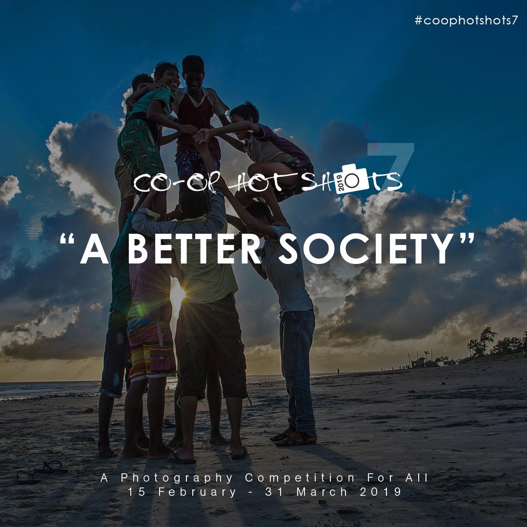 Co-op Hot Shots: A Better Society - logo