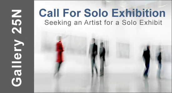 ART CALL TO ARTISTS AND PHOTOGRAPHERS – For a Solo Exhibition 2019