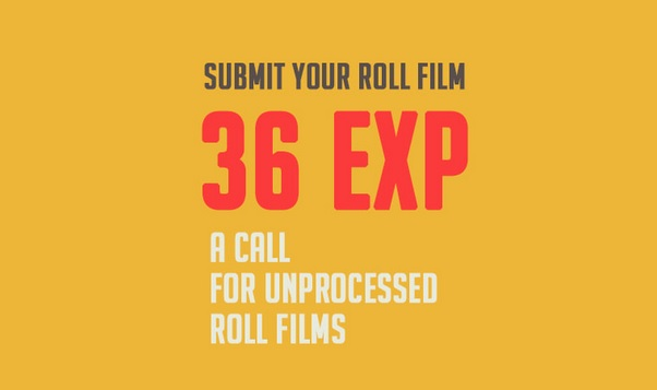 36EXP – a call for unprocessed roll film - logo