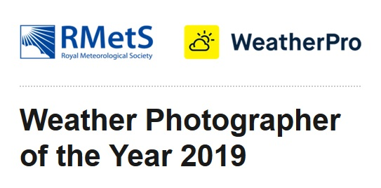 RMetS Weather Photographer of the Year 2019 - logo