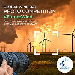 "Global Wind Day 2019 Photo Contest, ""Future Wind"" - logo"