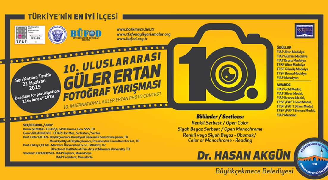 10. International Güler Ertan Photo Contest 2019 - logo