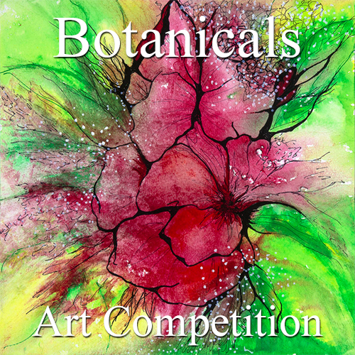 """9th Annual """"Botanicals"""" Online Art Competition - logo"""