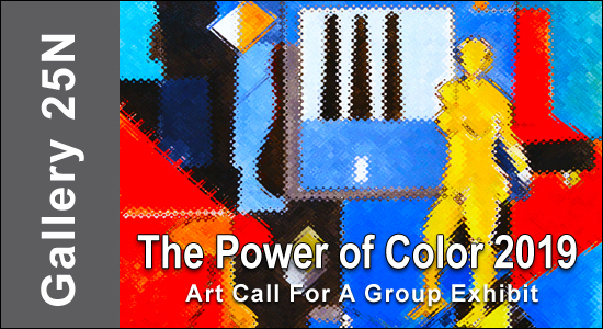 "Call For Entries for ""The Power of Color 2019 "" Photographers & Artist - logo"