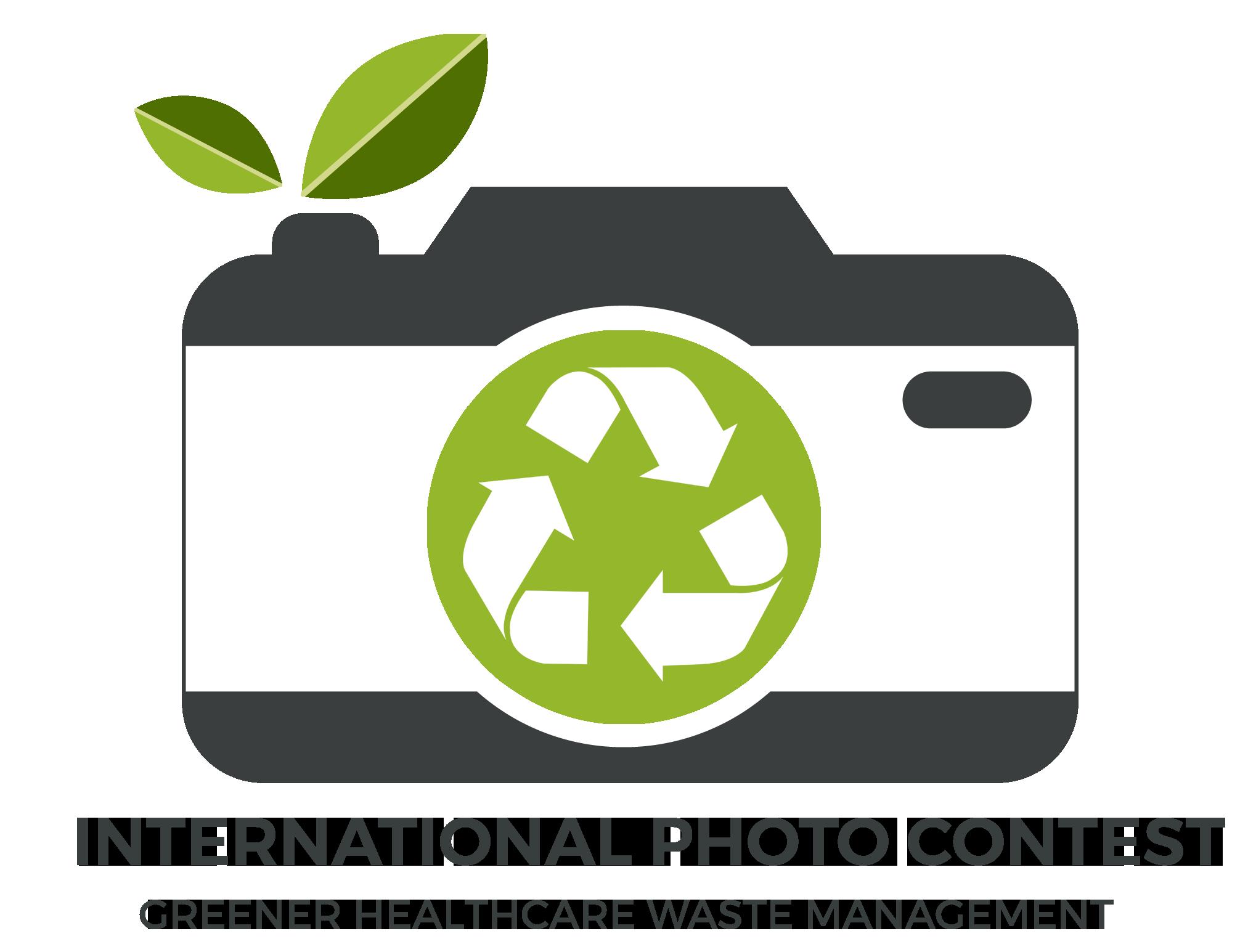 International Photo Contest on Greener Healthcare Waste Management - logo