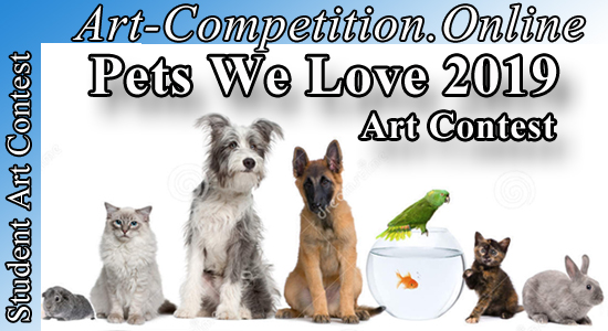 OPEN ART CONTEST FOR PHOTOGRAPHERS & ARTISTS – PETS WE LOVE 2019 - logo