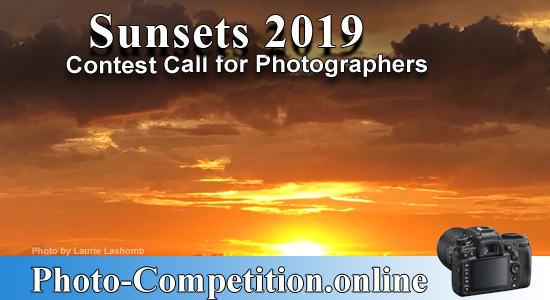 OPEN PHOTOGRAPHY CONTEST – SUNSET / SUNRISE 2019 - logo