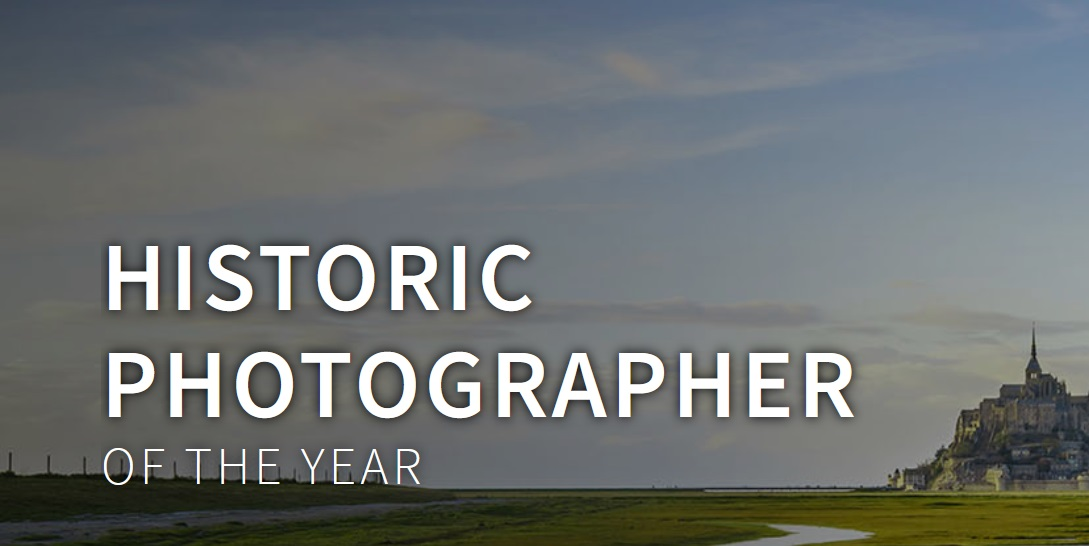 Historic Photographer of the Year 2019 - logo