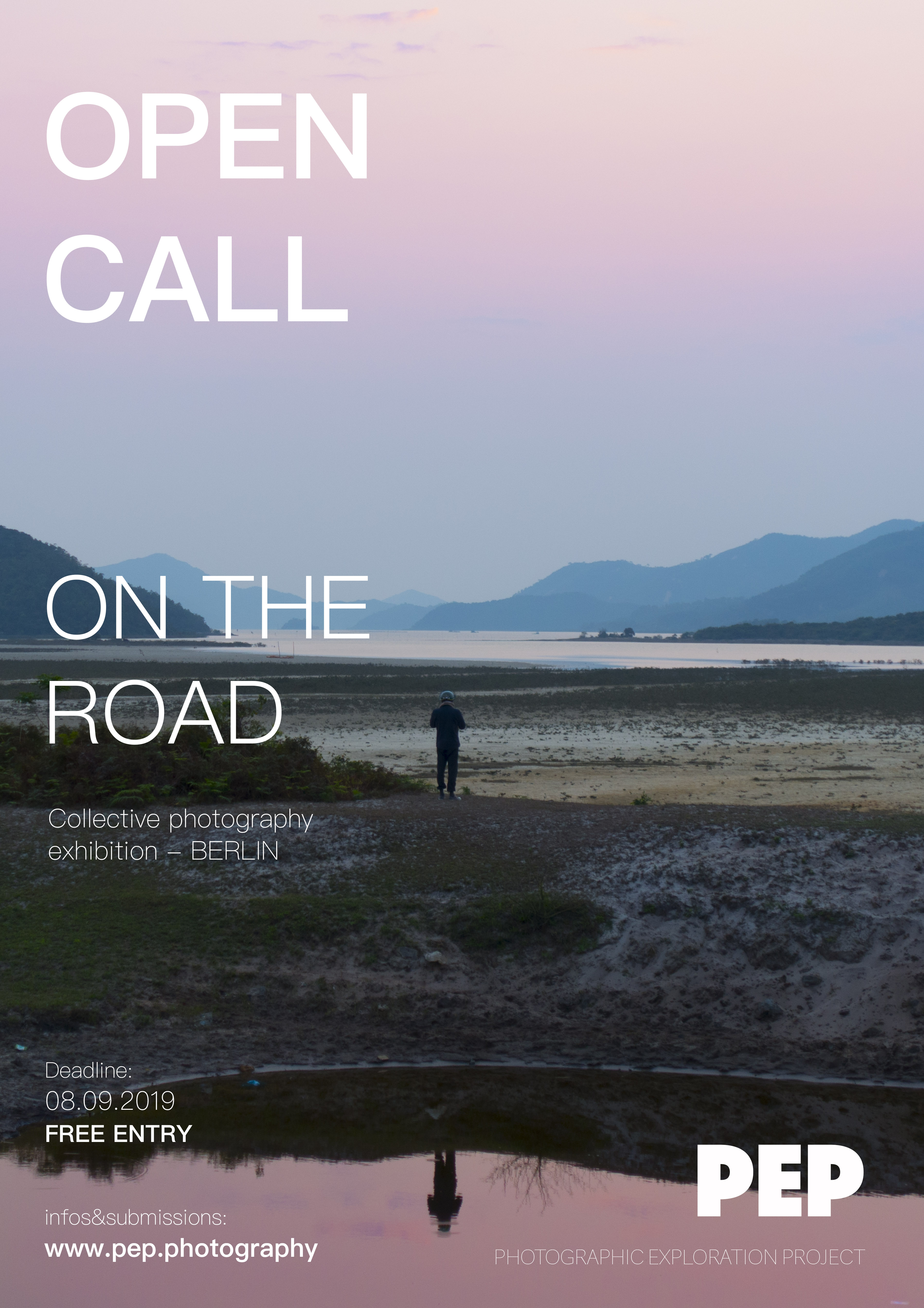 On the road – take part in a collective photography exhibition in Berlin - logo