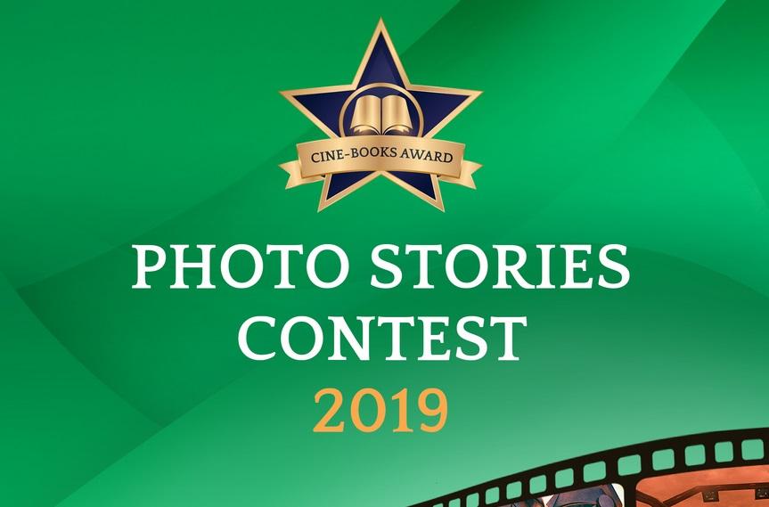 Photo Stories Contest for CINE-BOOKS.com - logo