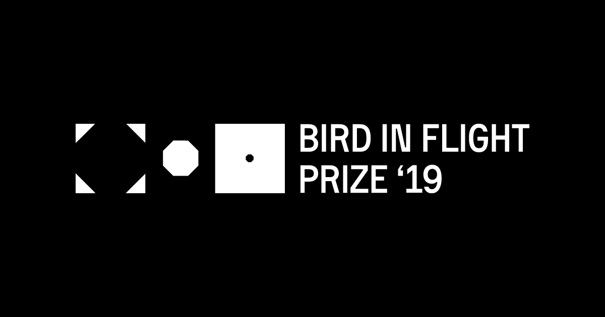 Bird in Flight Prize '19: award for innovative approach to a photograph - logo