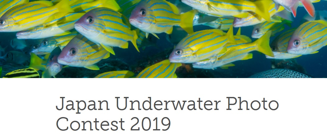 Japan Underwater Photo Contest 2019 - logo