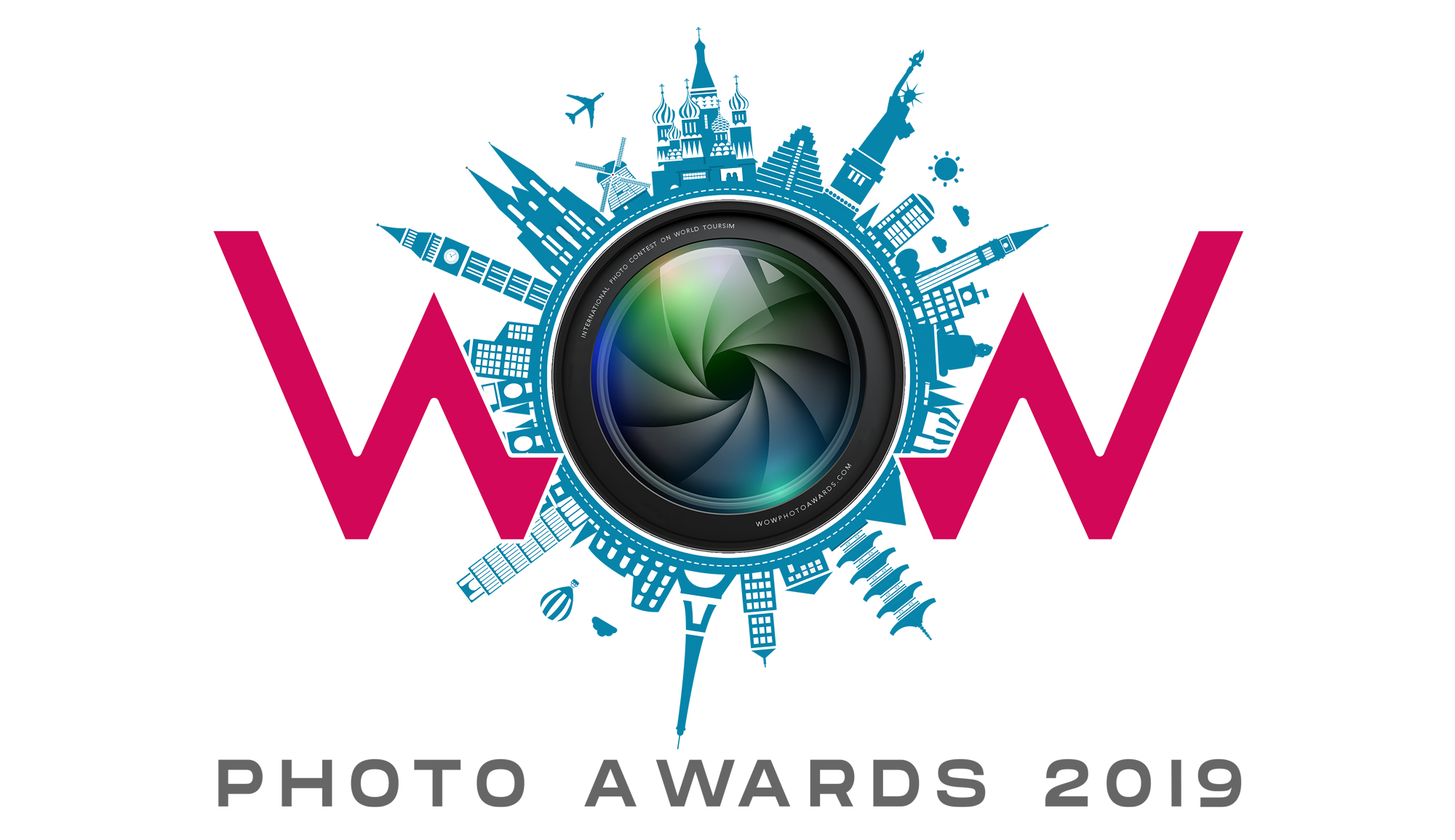 WOW PHOTO AWARDS 2019 – Ultimate Photo Contest on World Tourism - logo