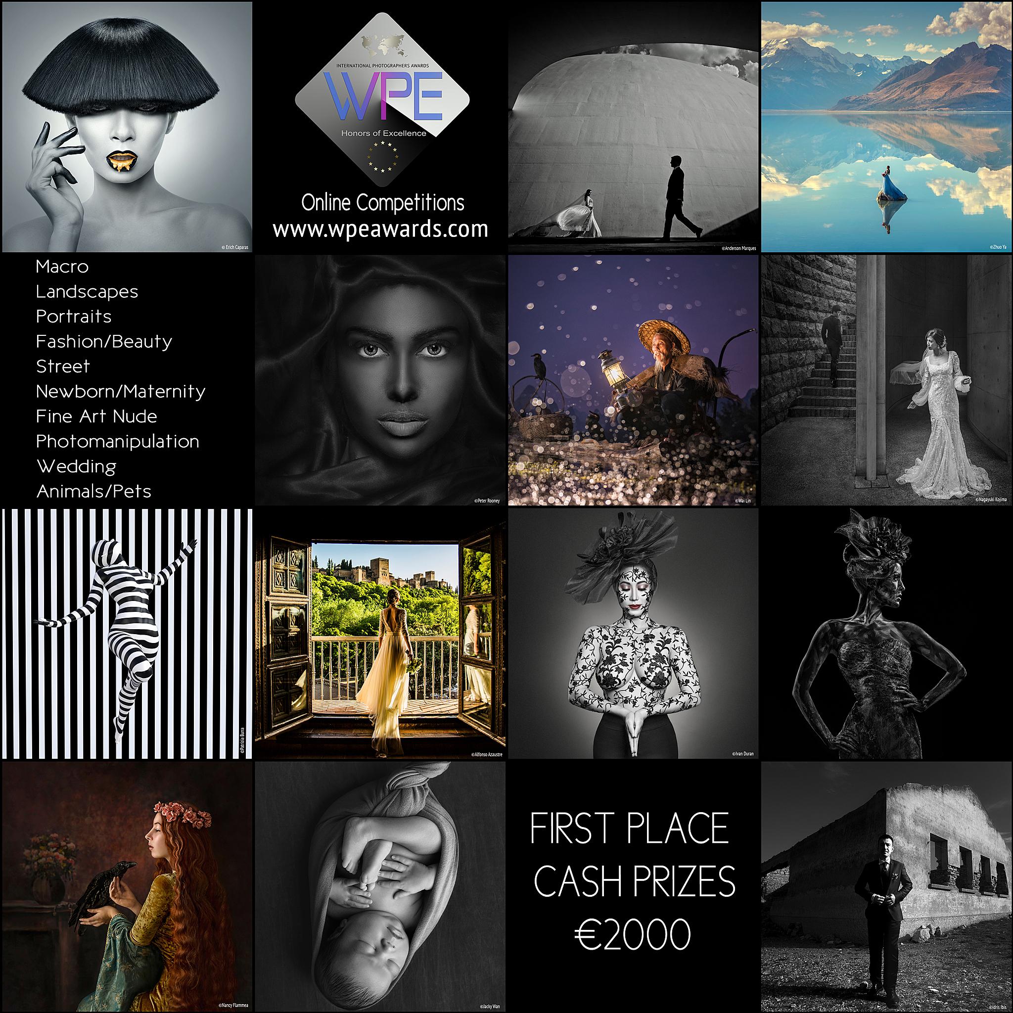 WPE International Photography Awards 2019 - logo