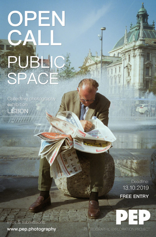 """""""Public Space"""": take part in a photography exhibition in Lisbon! - logo"""