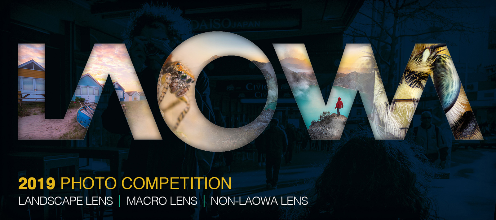 3RD Laowa Photography Competition 2019 - logo